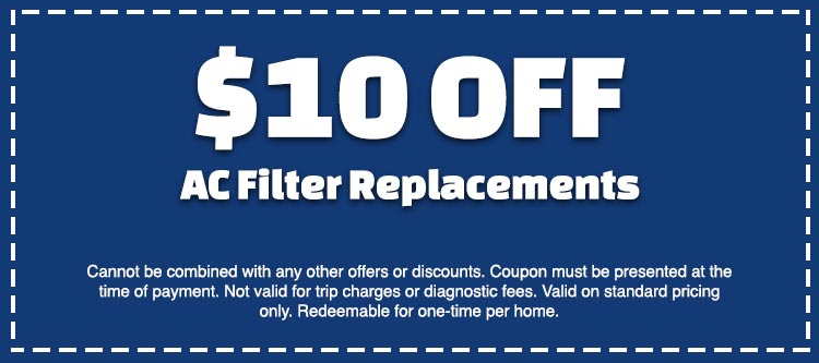 discount on ac filter replacement